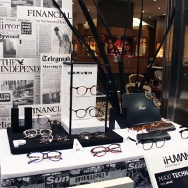 PIERRE MARLY OPTICIEN – THÈME NEWSPAPER – PARIS