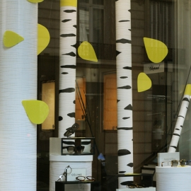 Autumn Trees - Pierre Marly Opticien - Paris