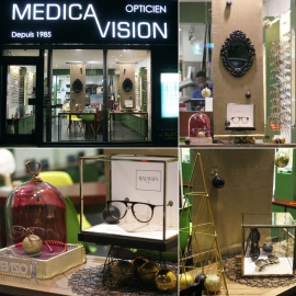 Medicavision - Paris - Black&Gold Christmas
